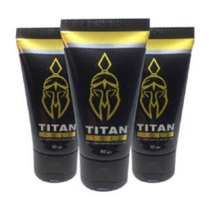 10 Titan® Gold   GEL LUBRICANTE MASCULINO